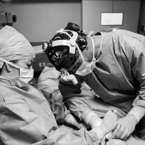 docteur meziane et gaelle antz bloc operatoire