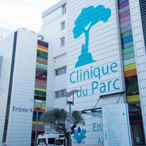 cliniquer du parc entree